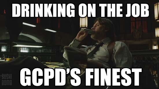 gotham_drinking_GCPD