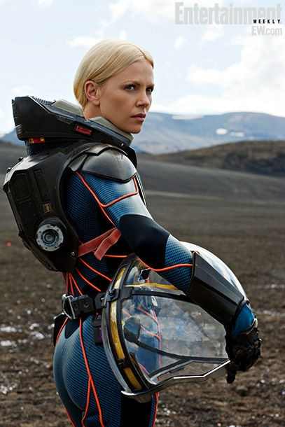 prometheus-charlize-theron-set