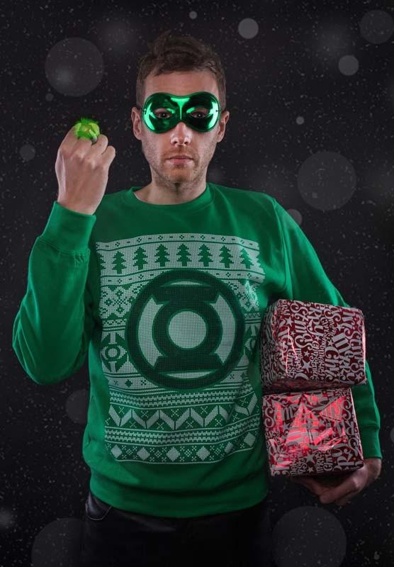 Green Lantern Xmas Jumper